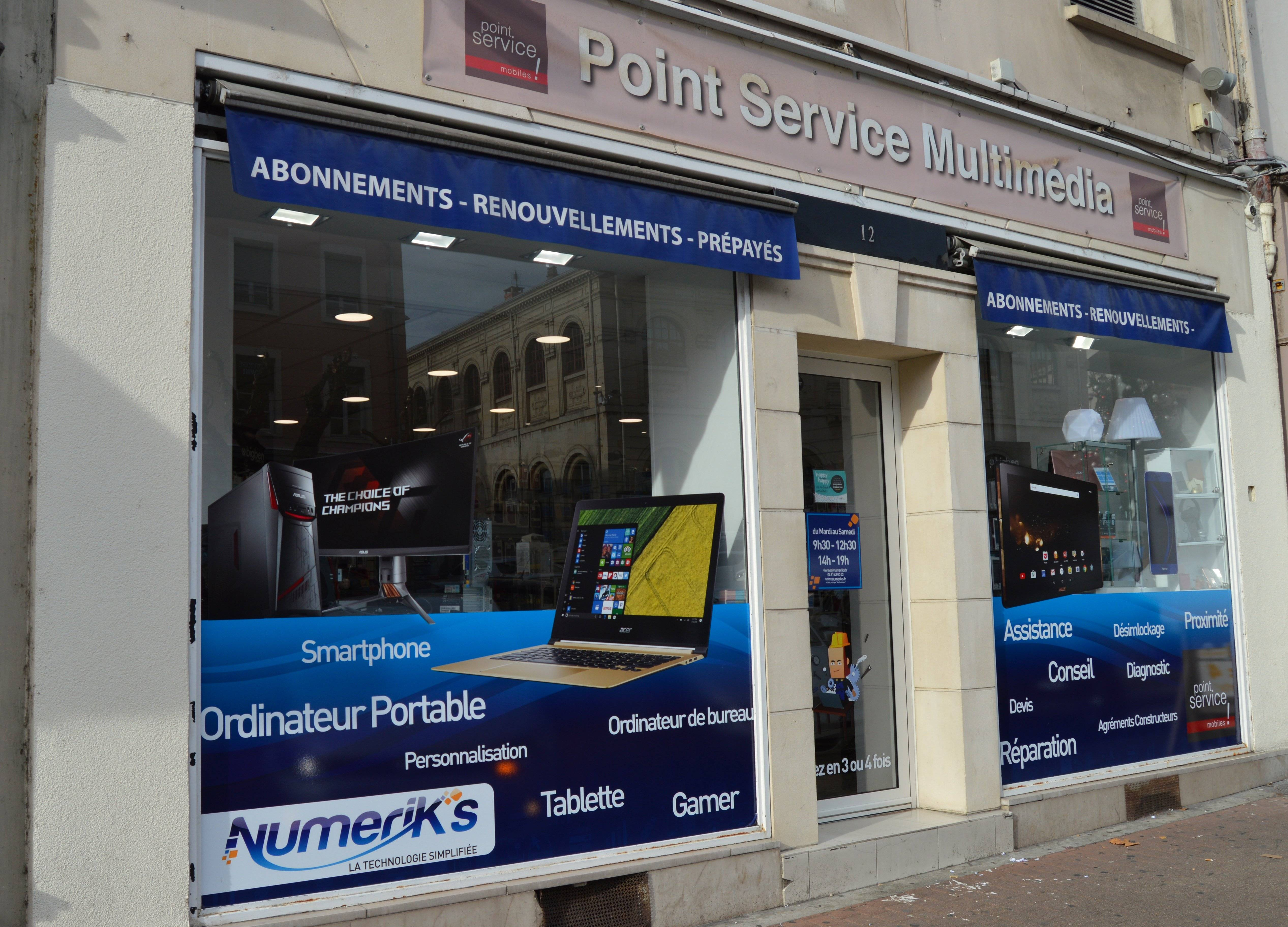 NUMERIK'S VIENNE - PSM (POINT SERVICE MOBILE)