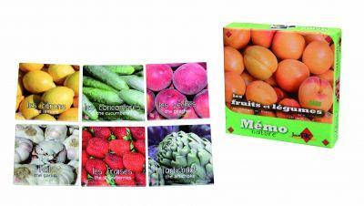 Jeu de mémo Fruits et Légumes
