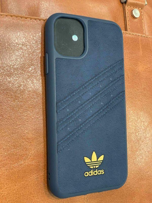 Coque Adidas Originals Gazelle premium bleu pour iphone 11 Adidas ...