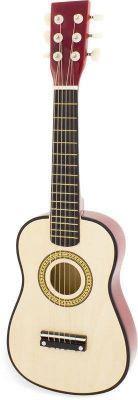 Guitare naturelle en bois