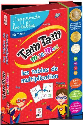 Jeu de calcul Tam tam Multiplication