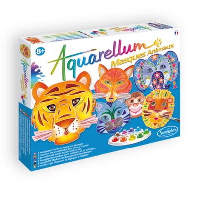 Aquarellum Masques Animaux