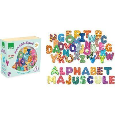 Jeu éducatif Lettres magnétiques alphabet majuscules