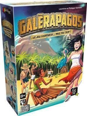 Jeu coopératif Galerapagos