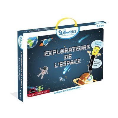 Jeu éducatif ardoise effaçable Explorer l'espace