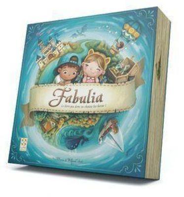 Livre jeu Fabulia on choisit les histoires du livre, les héros !