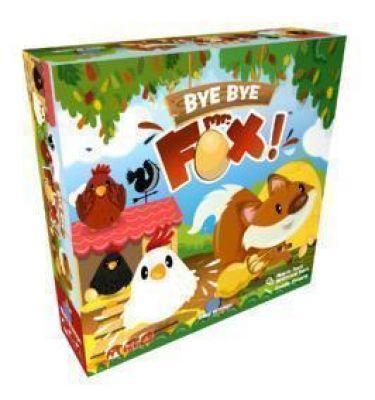 Jeu coopératif Bye bye fox