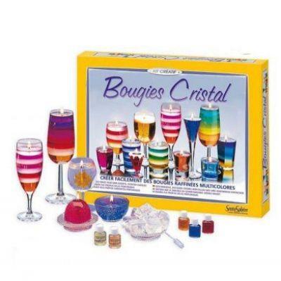 Activité Créative Coffret Bougies Cristal jeu éducatif