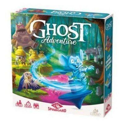 A-PROMOTIONS Jeu coopératif Ghost Adventures jeu de toupie