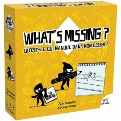 Jeu d'observation  What's missing dessin