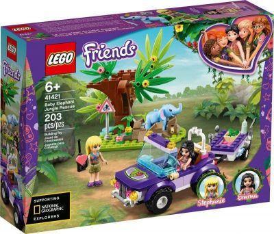 Lego Friends sauvetage bébé éléphant