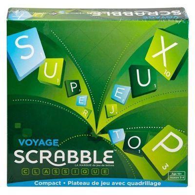 Jeu de lettres Scrabble de voyage