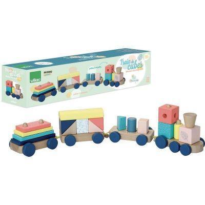 Train de cubes Sous la canopée