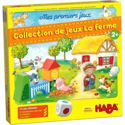 Mes premiers jeux Collection de jeux de la Ferme