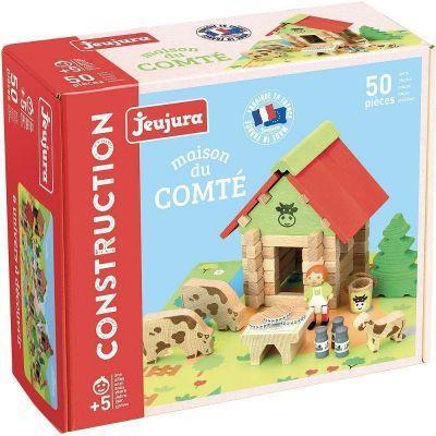Jeu de construction La Maison du miel, Le comté en bois 50 pièces