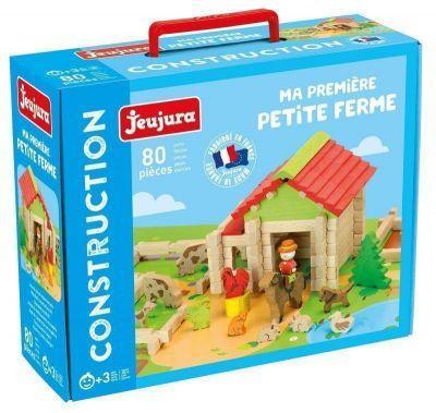 Jeu de construction Ma première petite ferme en bois 80 pièces