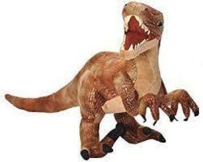 Peluche dinosaure vélociraptor Wild Republic 43 cm
