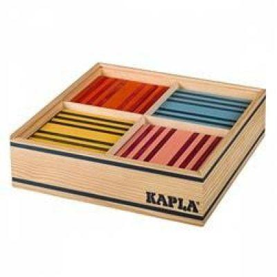 Jeu de construction Kapla Octocolor Boite 100 planchettes colorées