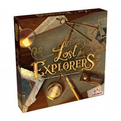 Nouveautés Jeu d'exploration Lost explorers