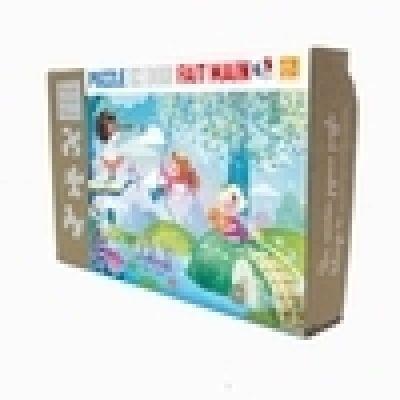 Puzzle 24 pièces en bois Pirates, Pont de Monet