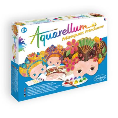Aquarellum Masques Princesses