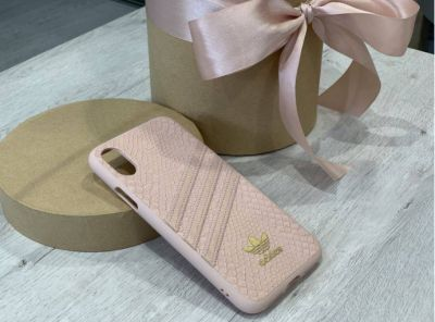 Coque Adidas Originals Croco rose pour iPhones