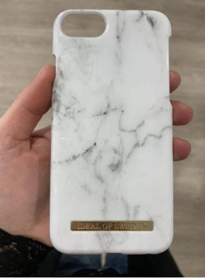 Coque Fashion White Marble Ideal Of Sweden pour iPhone