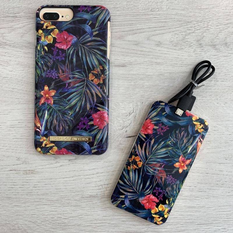 achat coque rigide mysterious jungle ideal of sweden motif floraux iphone 6 iphone 6s iphone 7 iphone 8 iphone 6 plus iphone 6s plus iphone 7 plus iphone 8 plus iphone x iphone xs bourgoin 3 RZL92B