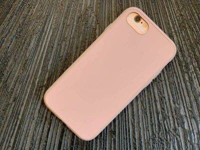Coque RHINOSHIELD blush rose pour iPhone