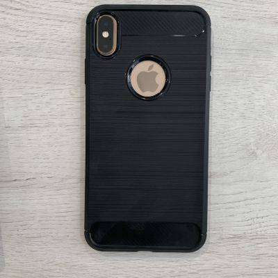 Coque de protection iPhone XS Max en silicone renforcé