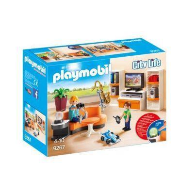 Playmobil Salon équipé de la maison moderne
