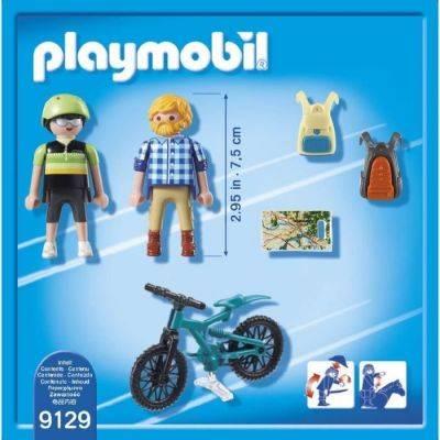 Playmobil Action-Motard Et Randonneur 9129