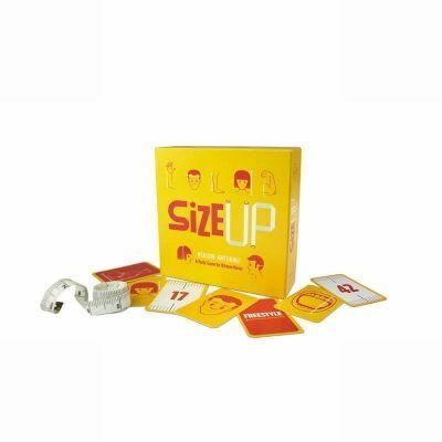 Jeu de cartes Size up